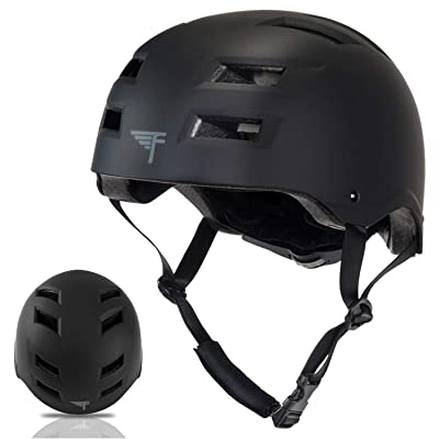 Flybar Skateboard Helmet- Dual Certified CPSC Multi-Sport Impact Protection for Youth and Adults for Bike, Inline and Roller Skating, Skateboarding, BMX, Scooter, and Sports Activities : Sports & Outdoors