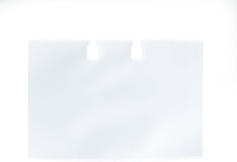 DURABLE VISIFIX & TELINDEX Business Card Sleeves Extension Set, Transparent, 40-Pack (241819)