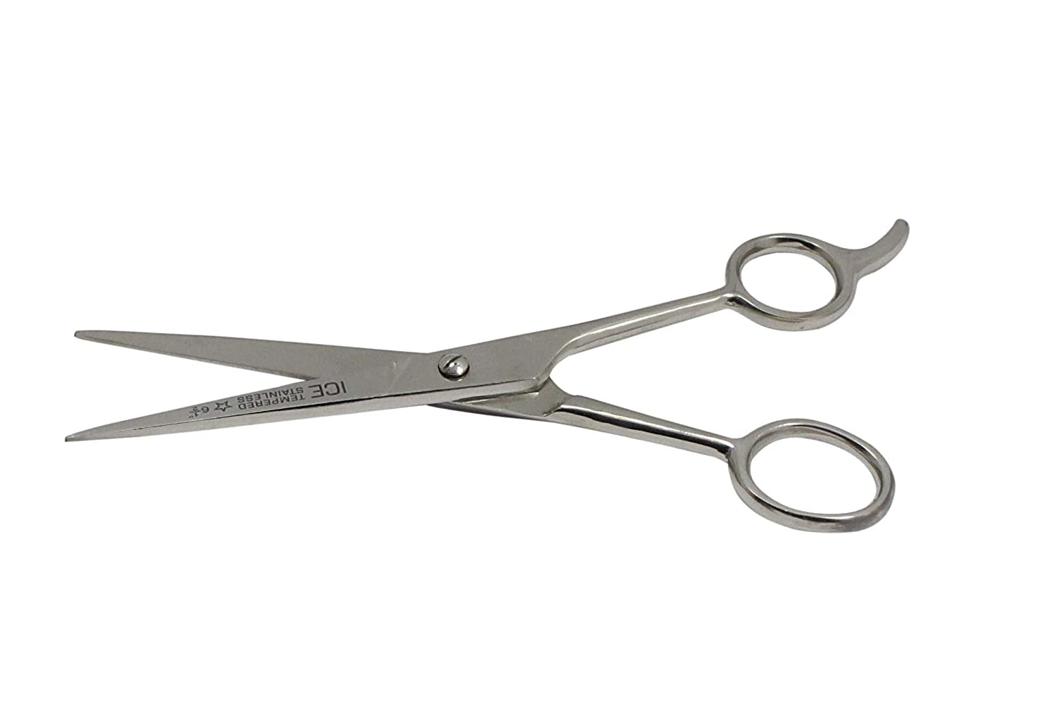 SE SP104 6.1/2-Inch Ice Tempered Stainless Steel Barber Scissor