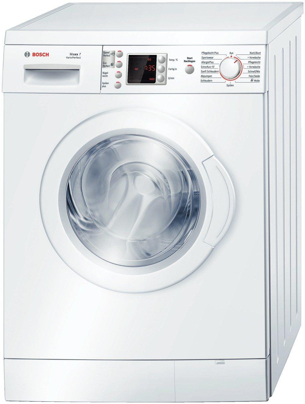 Bosch WAE28424 - Lavadora (A + +, 0.95 kWh, 48 L, LED, 600 mm, 590 ...