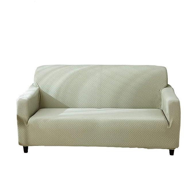 CHYOOO Funda De Sofa Verde Claro Impermeable Antiarrugas ...