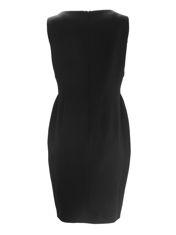 6c46c2b1dbd MaxMara Women s Nuevo Sleeveless Sheath Dress US 14 Black at Amazon Women s  Clothing store
