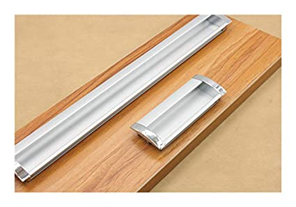 Kfz Modern Concealed Handles Recessed Drawer Pulls For Kitchen Cabinets Aluminium Alloy Furniture Cabinet Hardware Hao 5802 Door Knobs 5 3 78 Hole