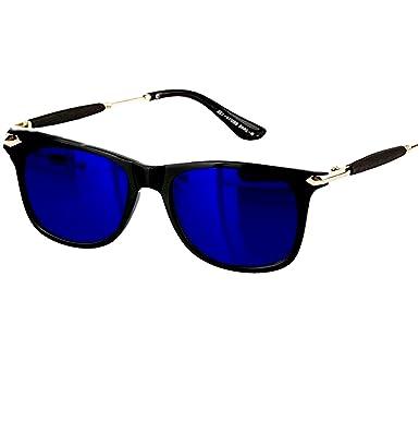 293276d614 Younky Unisex UV Protected Wayfarer Stylish Blue Mercury Sunglasses For Men  and Women (SS BlueMercuryWayfarer