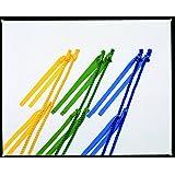 運動会用品 ムカデロープ 5人用 1.4m ( 黄 ) 大好評!! *縛りテープは足に優しく水にも強いアクリルスパンを使用しています