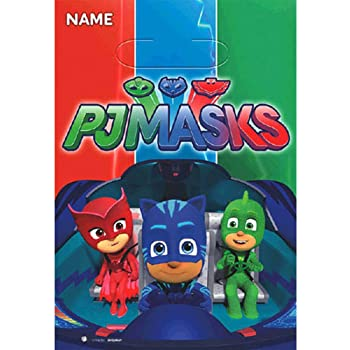 PJ Masks Favor Bags (8ct)