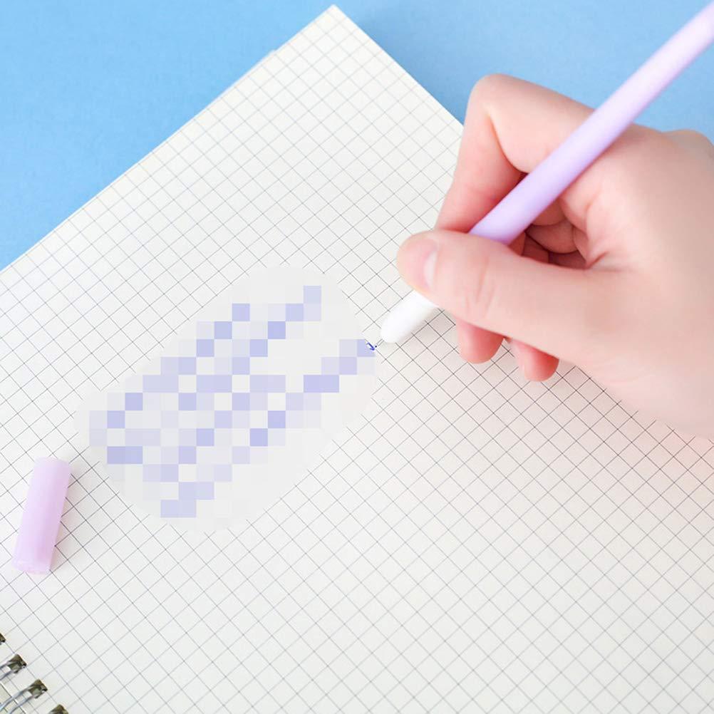 per studenti ufficio colore casuale scuola 6 penne a inchiostro gel a forma di farfalla Toyvian
