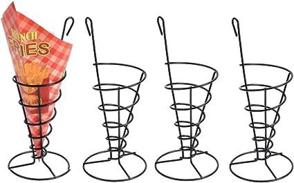 20 bolsas-pommeshalter snack soporte soporte fingerfood 4x pommestüten soporte