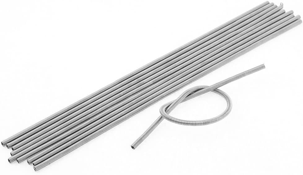 uxcell 10 Pcs Kiln Furnace FeCrAl Heating Element Coil Wire 220V 500W
