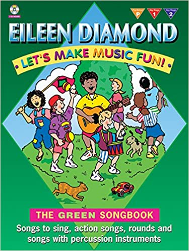 Lets Make Music Fun Green Book Book Cd Songbook Eileen