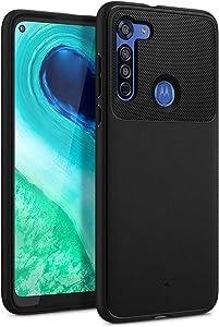 Caseology Vault for Moto G8 Case (2019) - Matte Black