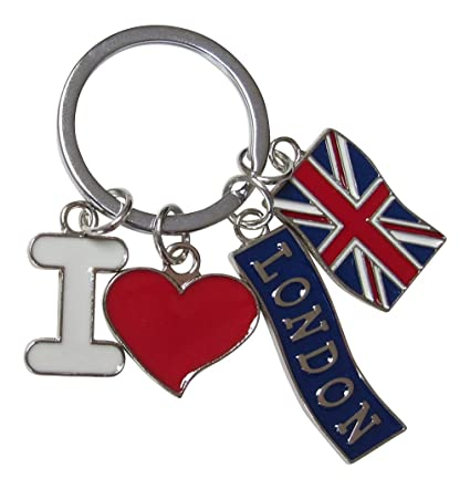 Llavero, joyas de bolsa I Love London, bandera UK, Londres ...