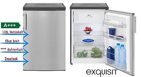 Bomann Kühlschrank Mit Gefrierfach Ks 2194 : Exquisit ks a unabhängig kombi kühlbox farbe inoxlook