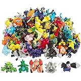 Pokemon Action Figures Monster Action Figures (144 Pieces)