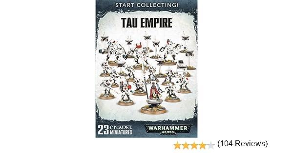 Games Workshop 99120113055 - Caja de Inicio de Warhammer 40.000, Imperio Tau: Amazon.es: Juguetes y juegos