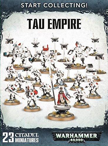 Games Workshop Warhammer 40,000 Start Collecting! Tau Empire (Best Starter Army Warhammer 40k)