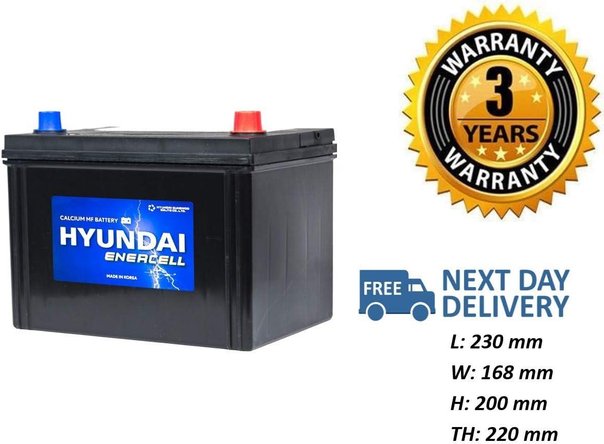 HYUNDAI 005L Heavy Duty Car Battery 12V fits many Subaru Suzuki Toyota