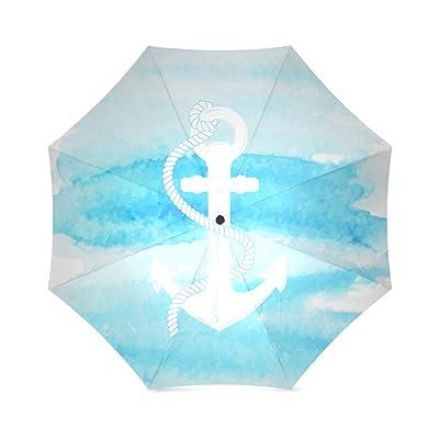Umbrella Ship's Anchor Custom Umbrella, Folding Umbrella Rainproof & Windproof