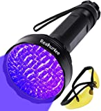 UV Black Light Flashlight, Super Bright 100 LED Pet Dog Cat Urine Detector light Flashlight for Pet Urine Stains…