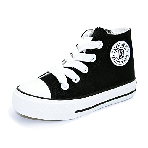 70dc8116b35e6 Sabe Boys Girls High Top Zipper Canvas Sneakers Slip-on Fashion Pumps  Casual Sport School