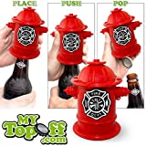 MyTopOff FREE SHIP Fire Hydrant Push Down Bottle Opener