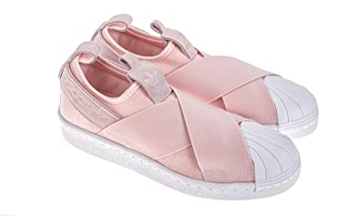 adidas Women Originals Superstar Slip-on Shoes  S76408 (10)  Amazon ... 3cd40e964a