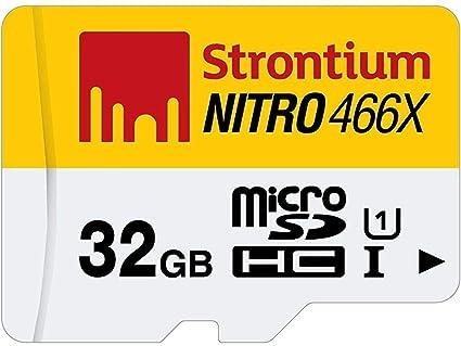 Strontium Technology Nitro 32GB micro SD Single Pack 85MB/s U1 Class