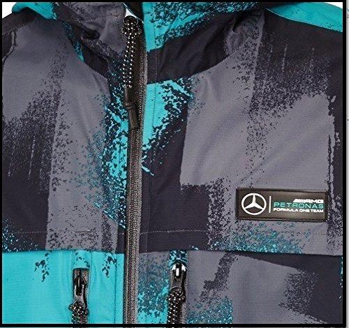 camuflaje verde F1 Petronas AMG X Hamilton Mercedes Large Abrigo hombre de x8BYFwnPqC