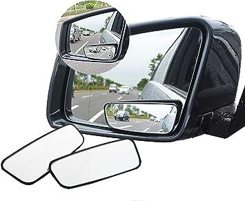 1 Pair Auto Car Rear View Mirror 360° Rotating Wide Angle Convex Blind Mirror