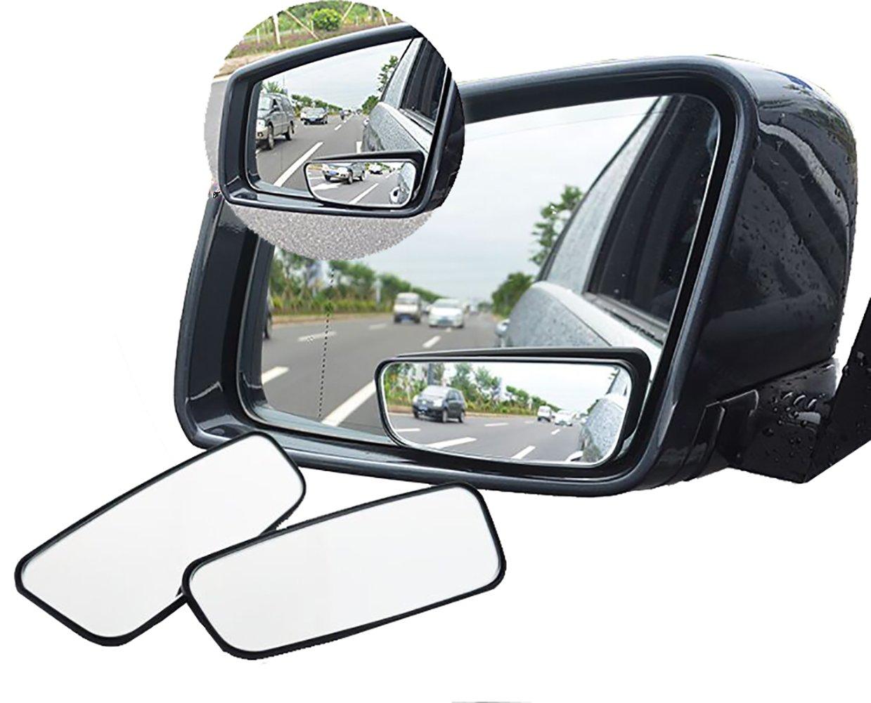 Meipro 360 ° Ruota Lo Specchio A Cieco, Adjustabe Wide Angle Specchio Retrovisore Specchio A Specchio lLaterale Convex In Vetro HD