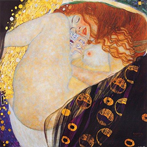 Posters: Gustav Klimt Poster Art Print - Danaë, 1907 (39 x 39 inches)