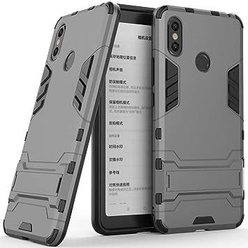 Funda para Xiaomi Mi MAX 3 (6,9 Pulgadas) 2 en 1 Híbrida Rugged ...