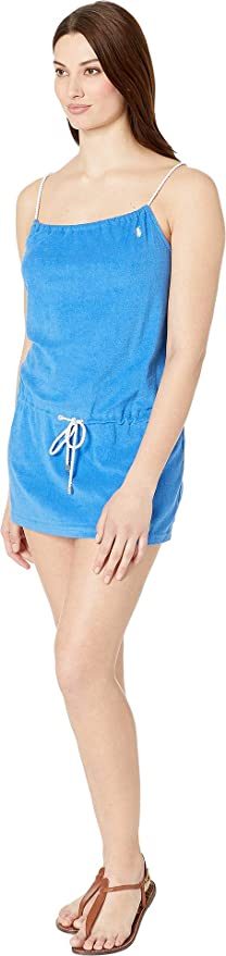 0e384667d5 Polo Ralph Lauren Womens Iconic Terry Rope Dress Cover-Up at Amazon Women's  Clothing store: