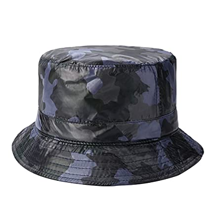 cc129c8f84b Amazon.com  Netursho Outdoor Rain Hat Lightweight Waterproof Bucket ...
