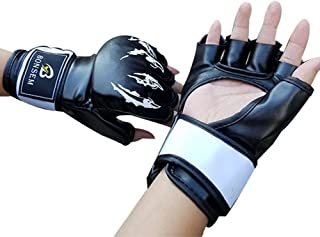 QUANGJISH Gants Taekwondo Gants Kick Boxe Grappling Arts Martiaux Sac Formation Protection Femme Homme
