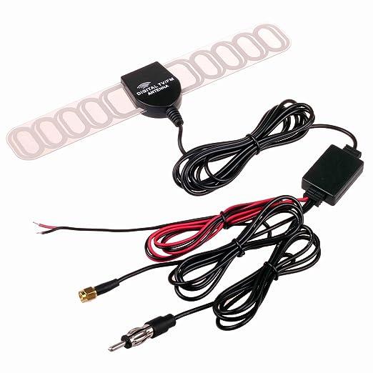4 opinioni per HitCar- Antenna TV e Amplificatore di segnale per auto, per TV analogica e TV