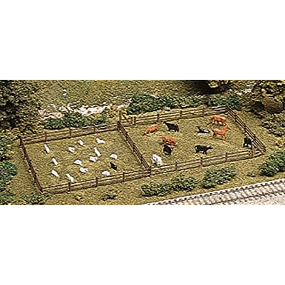 ATLAS MODEL 777 Rustic Fence & Gate Kit HO: Toys & Games