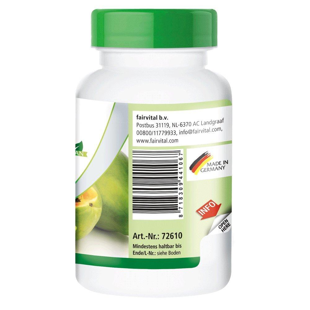 enzima de papaya - 1 mes - VEGANO - ALTA DOSIS - 100 comprimidos - con papaína, amilasa y proteasa: Amazon.es: Salud y cuidado personal