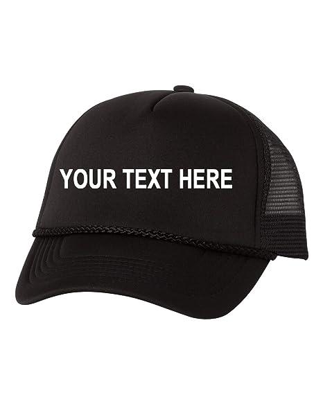 b80a169ea Valucap Custom Embroidered VC700 Adjustable Foam Trucker Cap Mesh Baseball  Hat Snapback
