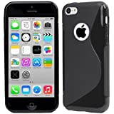High Value Apple Iphone 5 5G 5S Se Black Silicone Gel S Line Grip Case Cover For Apple Iphone 5 5G 5S By G4GADGET®