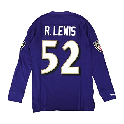 various colors e1f9b f7782 Amazon.com : Mitchell & Ness Ray Lewis Baltimore Ravens NFL ...