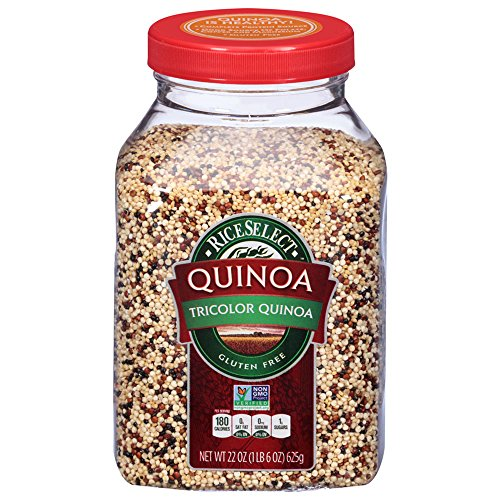 RiceSelect Tri-Color Quinoa, 22-Ounce (Pack of 4) by RiceSelect