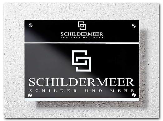 DIN A4 arte cartel panel de aluminio ligero de 3 mm, Negro ...