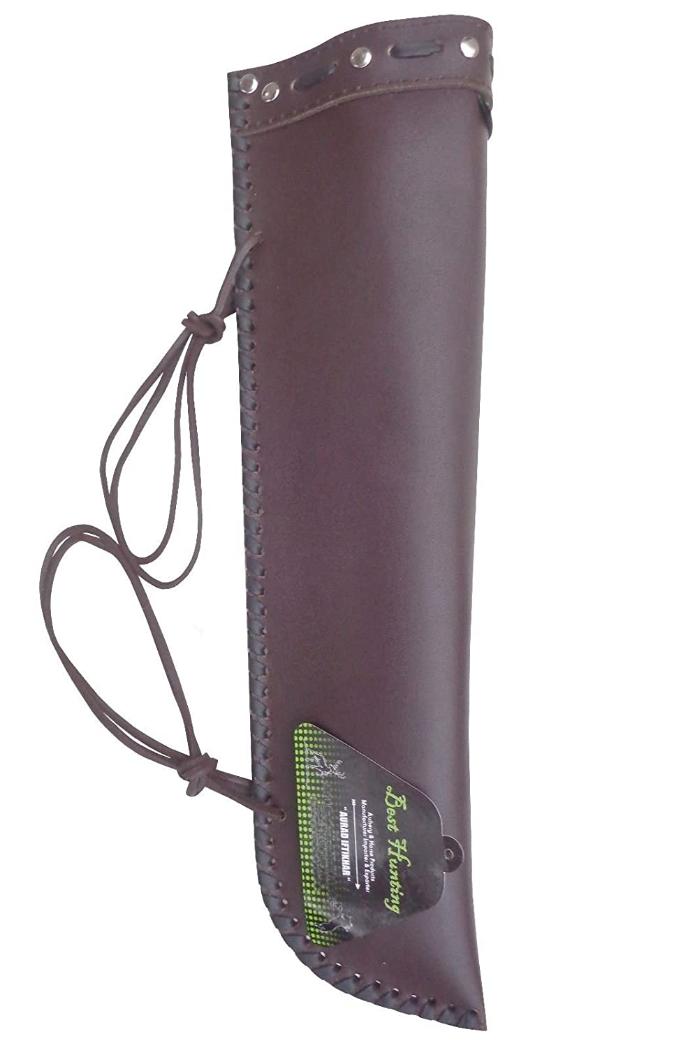BEST FINE LEATHER BASS BOW QUIVER BQ-5354 BROWN Besthunting2017 4334273780
