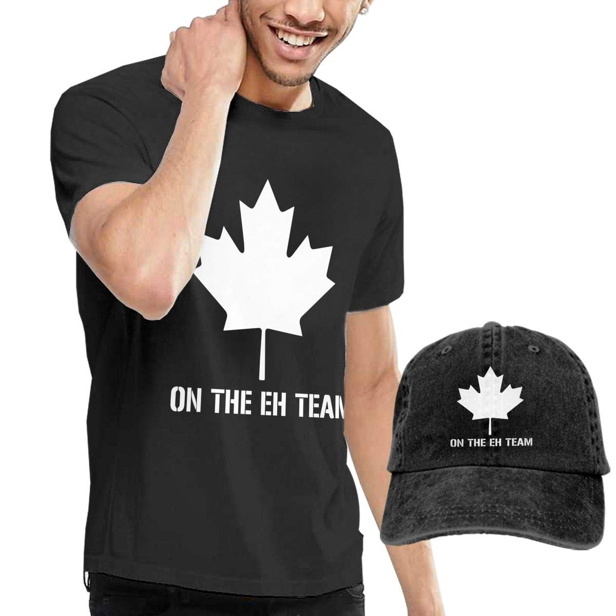On The Eh Team Fashion Mens T-Shirt and Hats Youth /& Adult T-Shirts