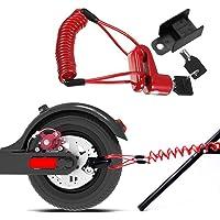 Bloqueo de Freno de Disco Cable de Acero antirrobo,Scooter Eléctrico Antirrobo Cable De Acero Bloqueo Frenos De Disco…