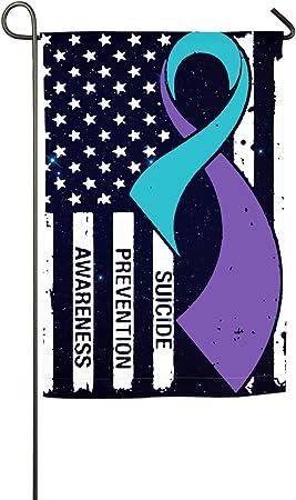 Amazon.com: Bandera de prevención de suicidio, bandera de ...