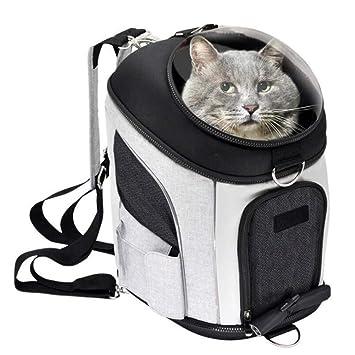 WLDOCA Mascota Portador Mochila para Los Perros De Los Gatos,Portátil Y Seguro del Peso hasta 6Kg: Amazon.es: Deportes y aire libre