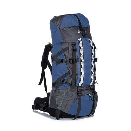 f48ff0d35fc8 Amazon.com: Dark blue 80L+20 Waterproof Outdoor Camping Travel ...