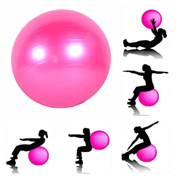 JERN Anti Burst Fitness Exercise Stability Yoga Ball/Gym Ball Exercise Balls   Accessories